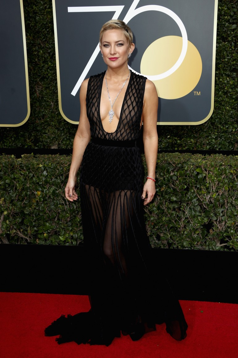 Golden Globes 2018 Red Carpet Photos: Kate Hudson