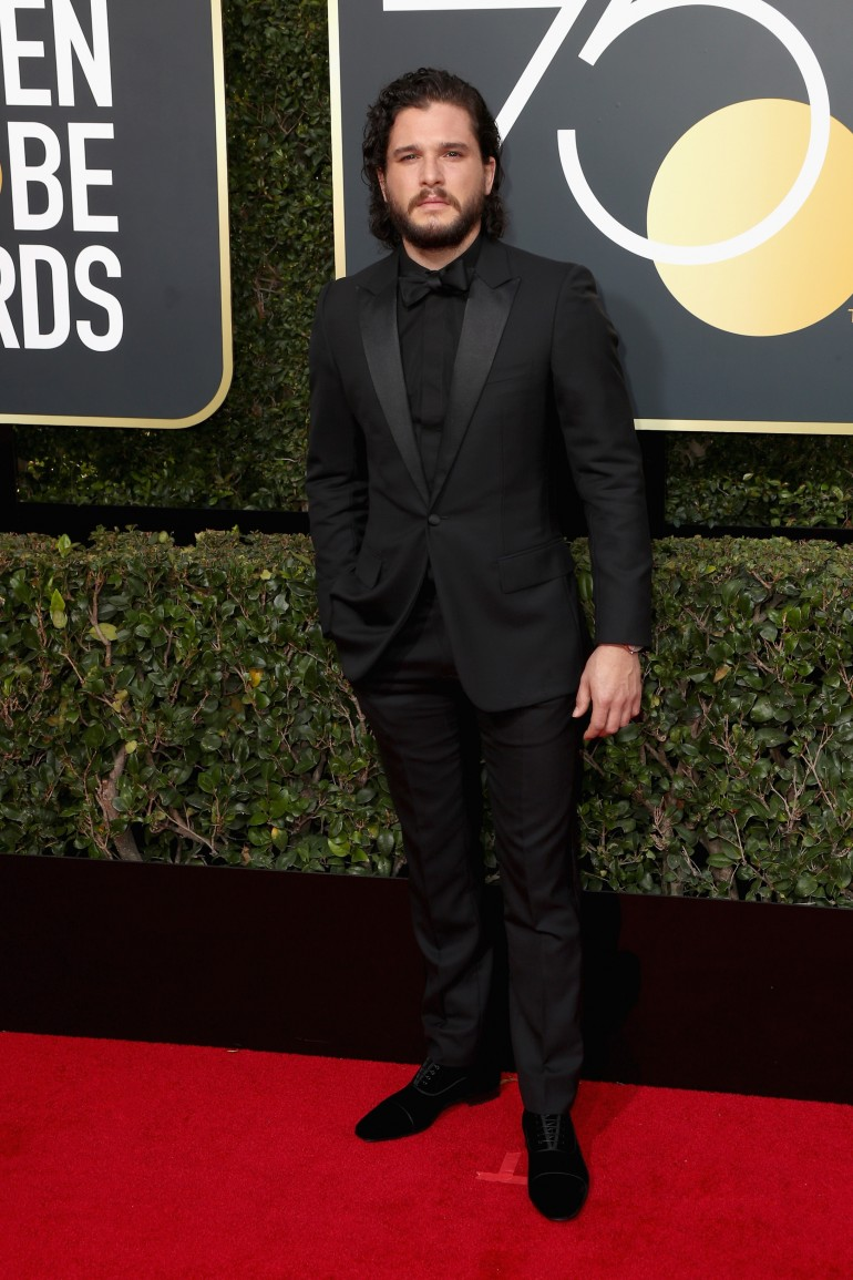 Golden Globes 2018 Red Carpet Photos: Kit Harington