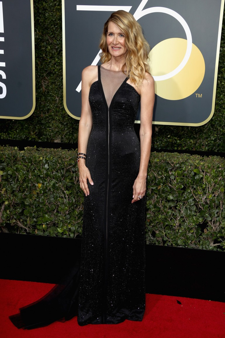 Golden Globes 2018 Red Carpet Photos: Laura Dern