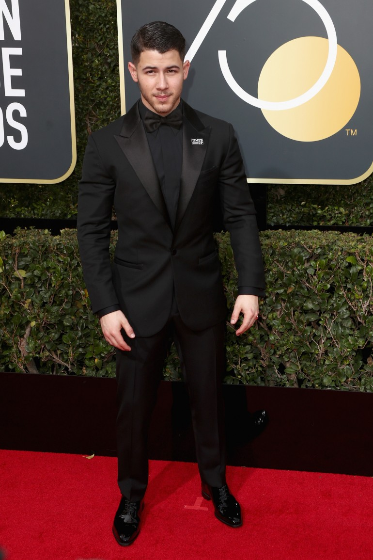 Golden Globes 2018 Red Carpet Photos: Nick Jonas