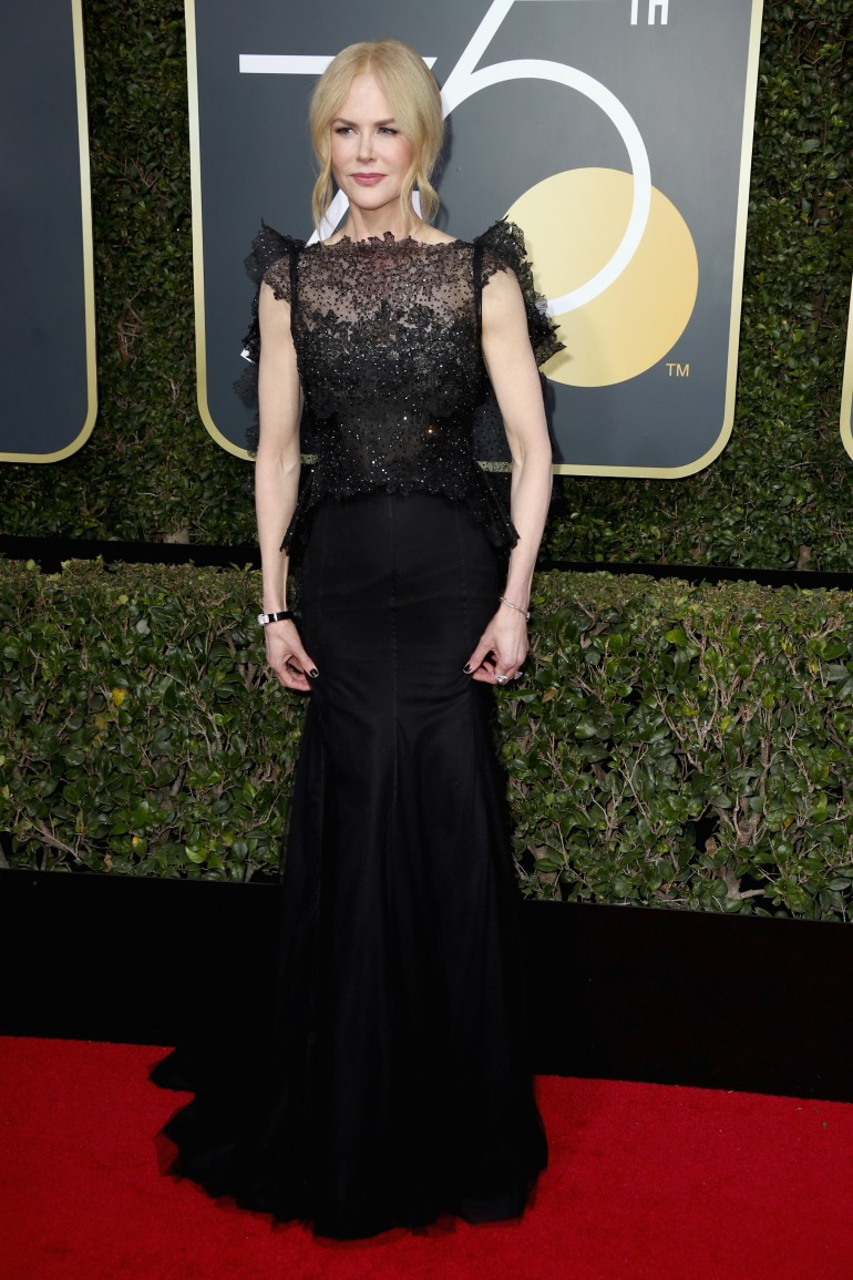 Golden Globes 2018 Red Carpet Photos: Nicole Kidman