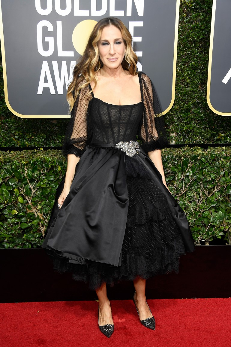 Golden Globes 2018 Red Carpet Photos: Sarah Jessica Parker