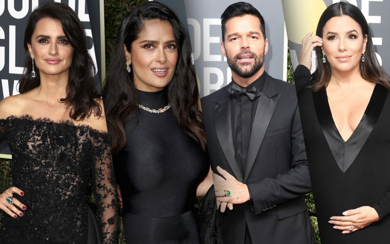 Golden Globes 2018 Red Carpet Photos