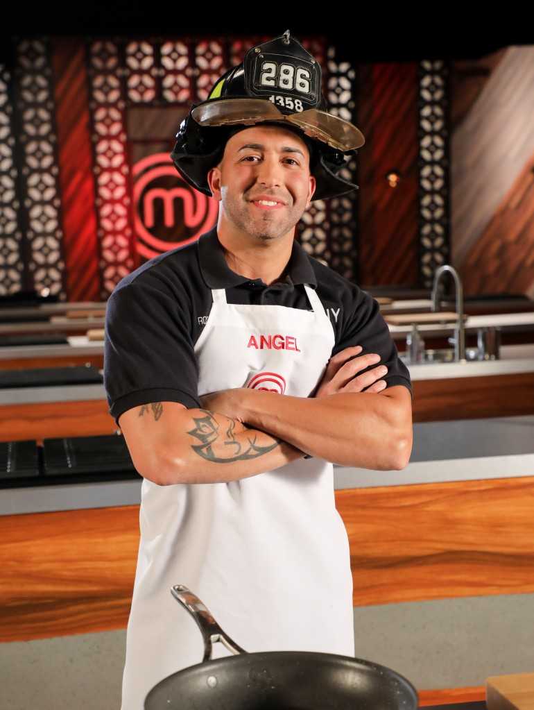 MasterChef Latino Contestants: Angel Rosales
