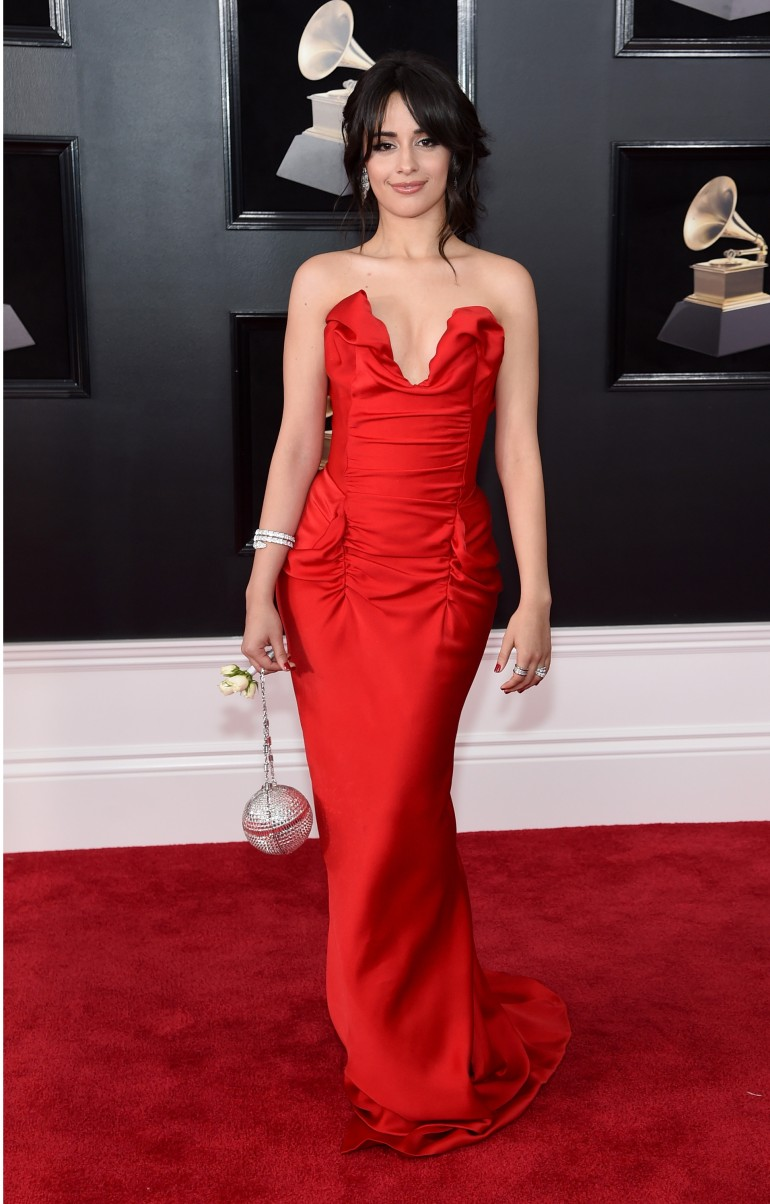Grammys 2018 Red Carpet Photos: Camila Cabello