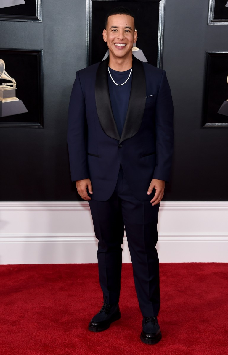 Grammys 2018 Red Carpet Photos: Daddy Yankee