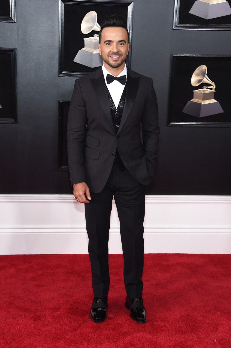 Grammys 2018 Red Carpet Photos: Luis Fonsi