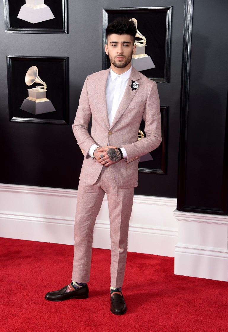 Grammys 2018 Red Carpet Photos: Zayn Malik