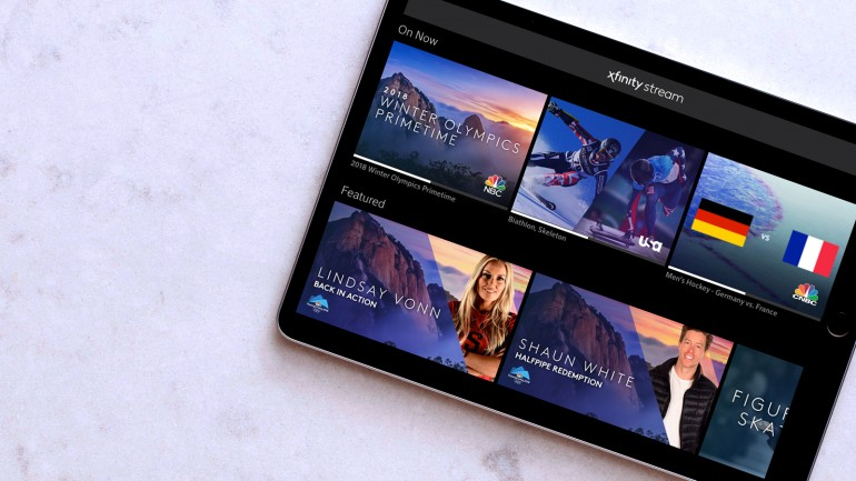 X1 Olympics Tablet - Comcast