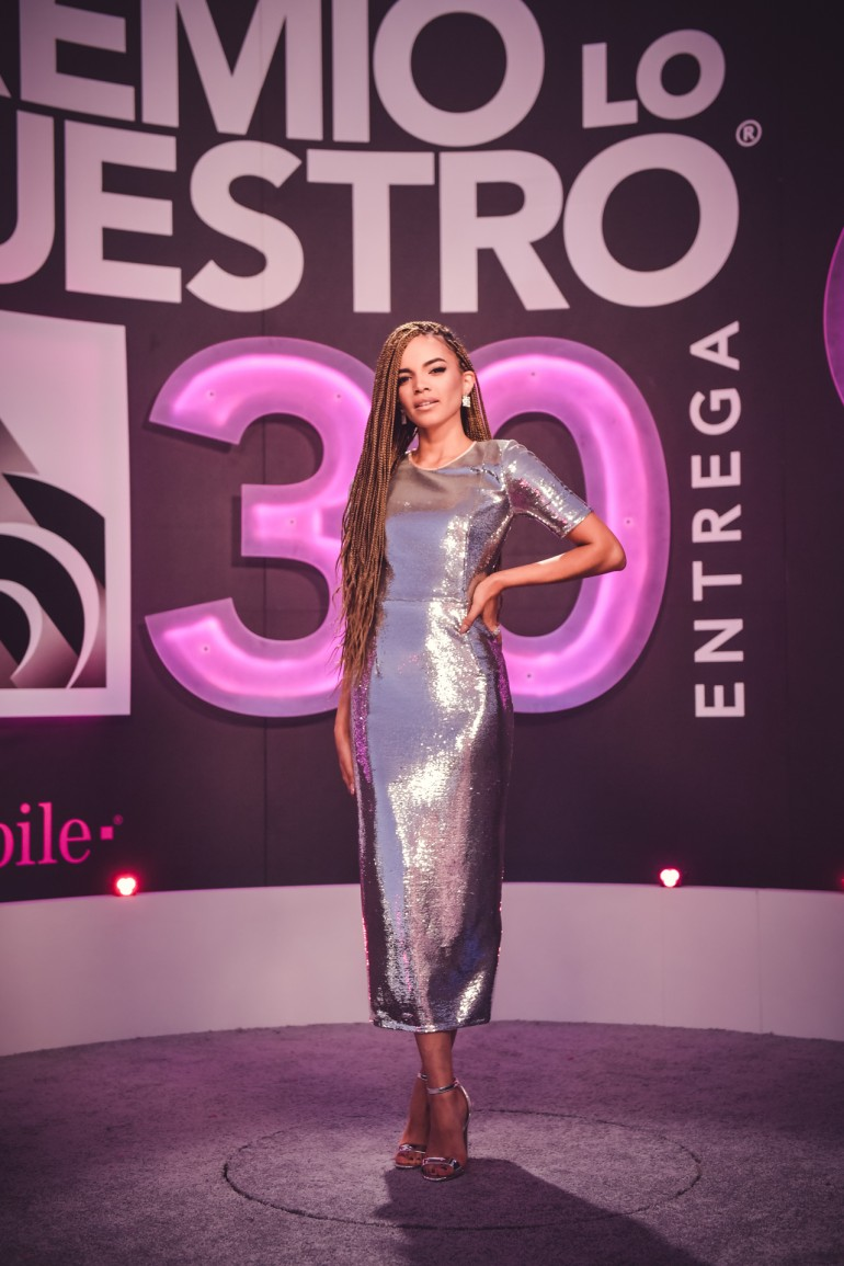Premio Lo Nuestro 2018 Red Carpet Photos: Leslie Grace