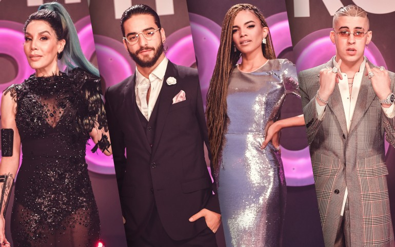 Premio Lo Nuestro 2018 Red Carpet Photos