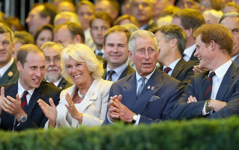 Prince William, Duchess Camilla, Prince Charles, Prince Harry