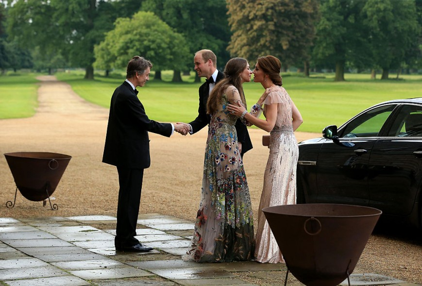 David Rocksavage, Prince William, Rose Hanbury and Kate Middleton