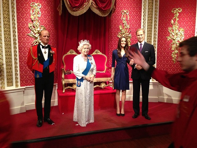 Prince Philip, Queen Elizabeth, Kate Middleton and Prince William
