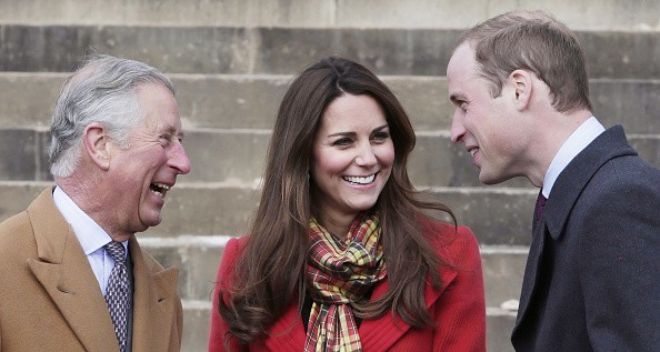 Prince Charles, Kate Middleton and Prince William