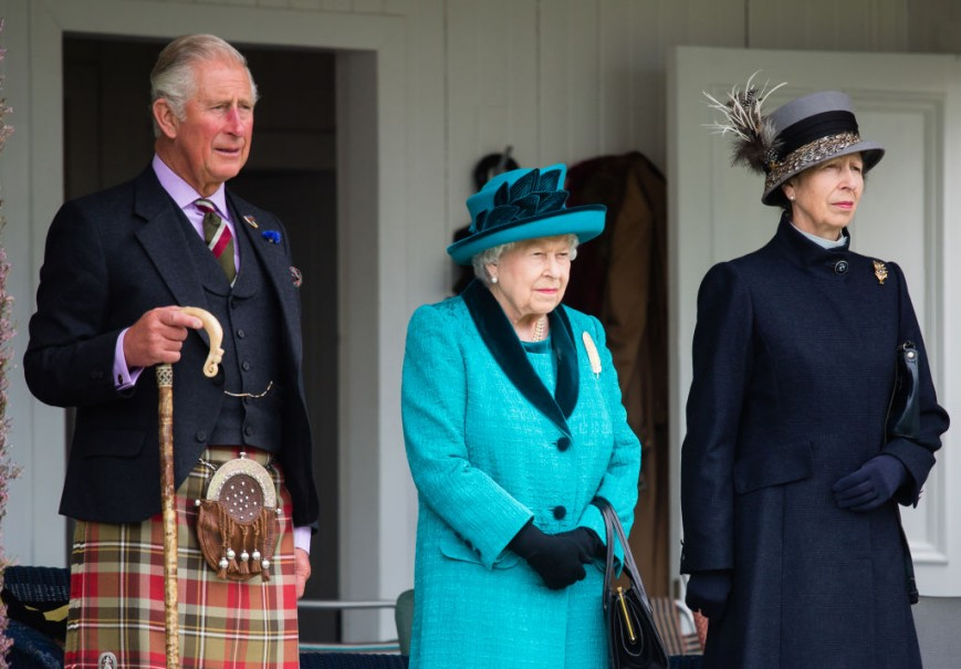 Prnce Charles, Queen Elizabeth, Princess Anne