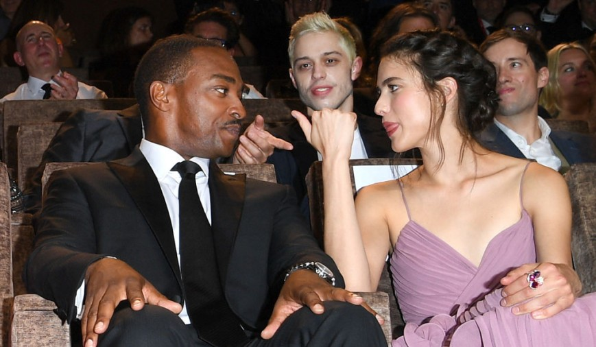 Anthony Mackie, Pete Davidson and Margaret Qualley