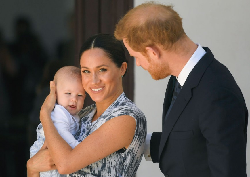 Archie, Meghan Markle and Prince Harry