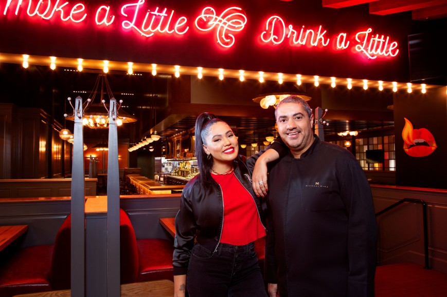 Chef Michael Mina and restaurateur Ayesha Curry