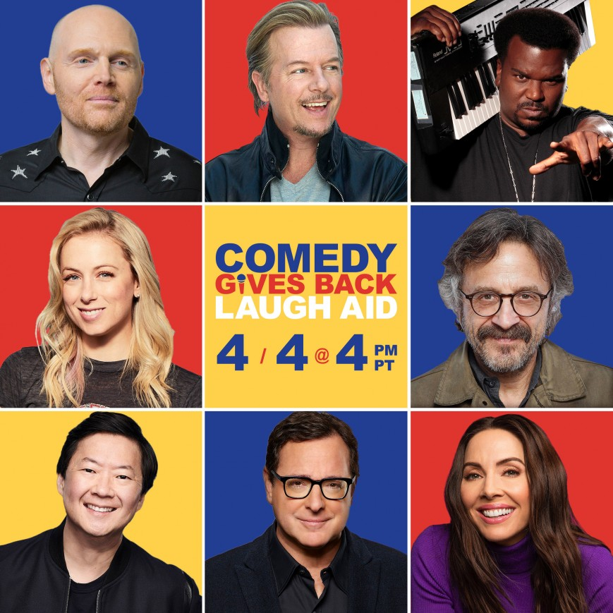 Comedy Gives Back Laugh Aid