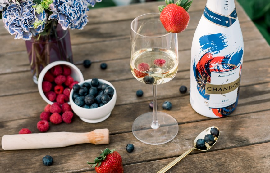 CHANDON-AMERICANSUMMER-Berry Bubbly Cocktail