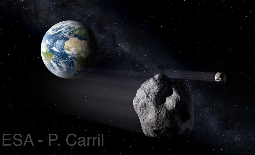 A pace rock, known as 2018VP1, is likely to hit the Earth on November 2nd