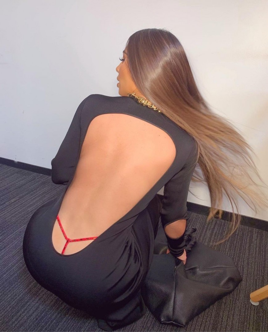 Kim Kardashian West sent fans into a tizzy as soon as she posted the snaps on IG