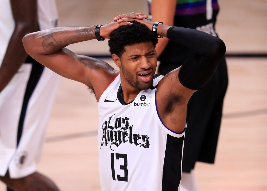 Paul George #13 of the LA Clippers