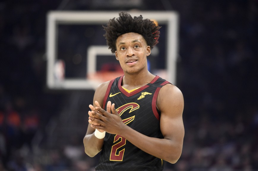 Collin Sexton #2 of the Cleveland Cavaliers