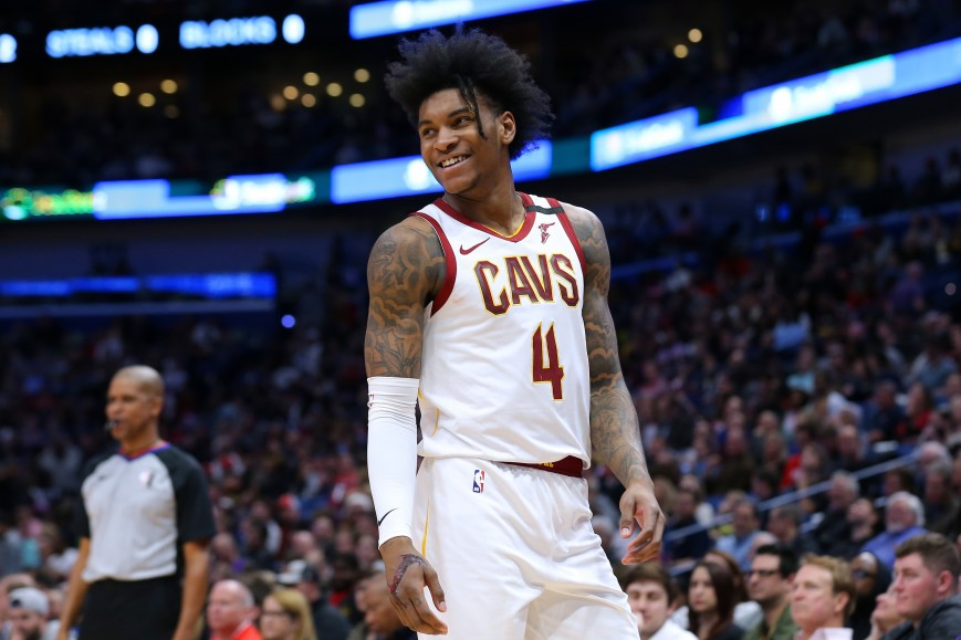 Kevin Porter Jr. #4 of the Cleveland Cavaliers