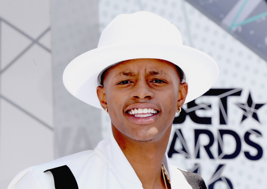 Rapper Silento attends the 2016 BET Awards at the Microsoft Theater
