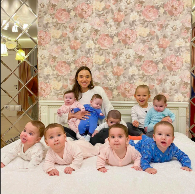 Christina Ozturk is currently raising 11 kids, and is deeply invested in the process.