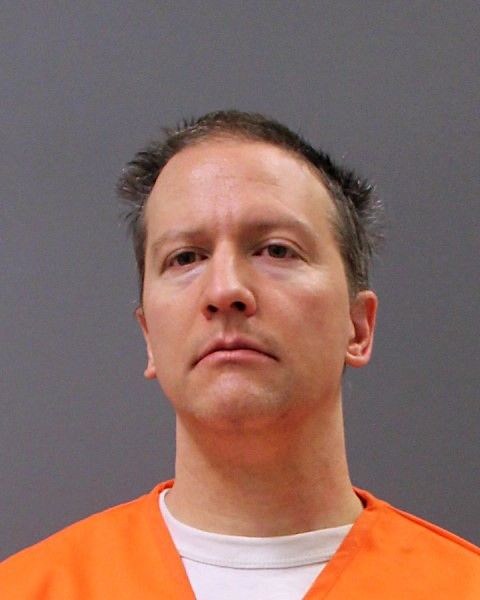 In this photo provided by the Minnesota Department of Corrections, former Minneapolis police officer Derek Chauvin poses for a booking photo after his conviction April 21, 2021 in Minneapolis, Minnesota.