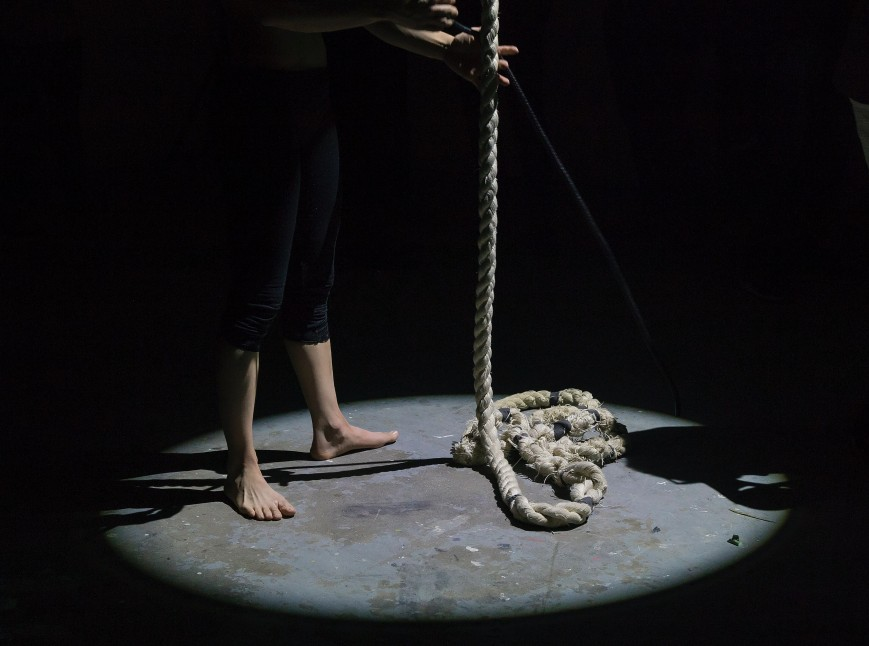 Rope, suicide