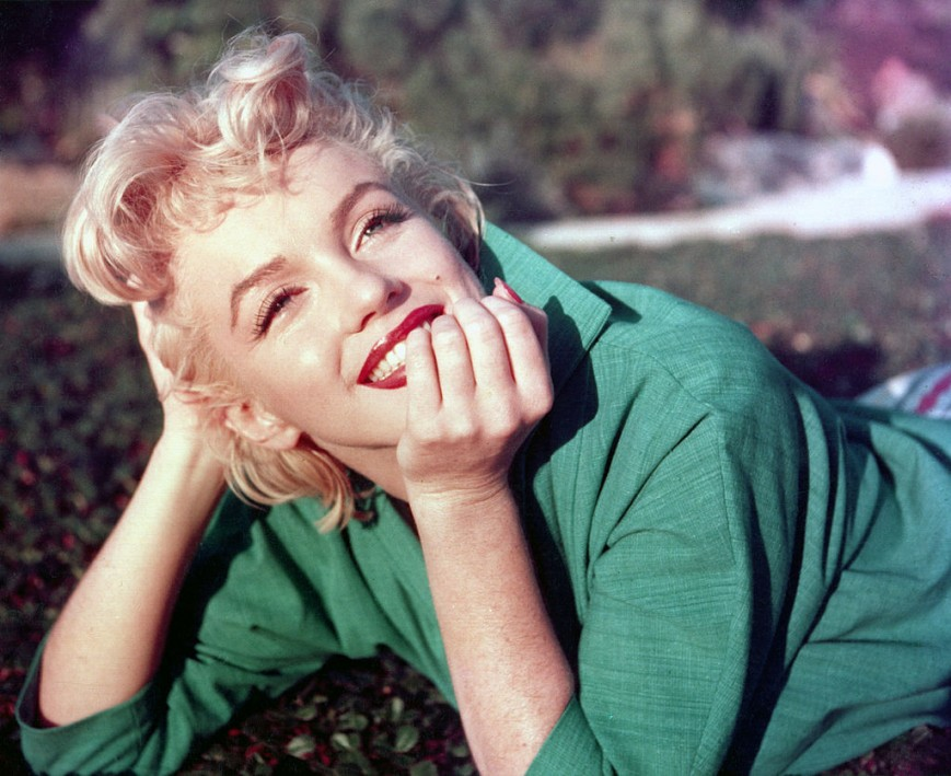 File picture of Marilyn Monroe