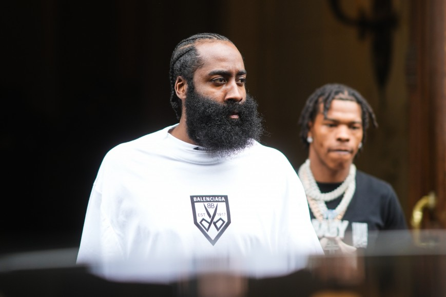 James Harden and Lil Baby