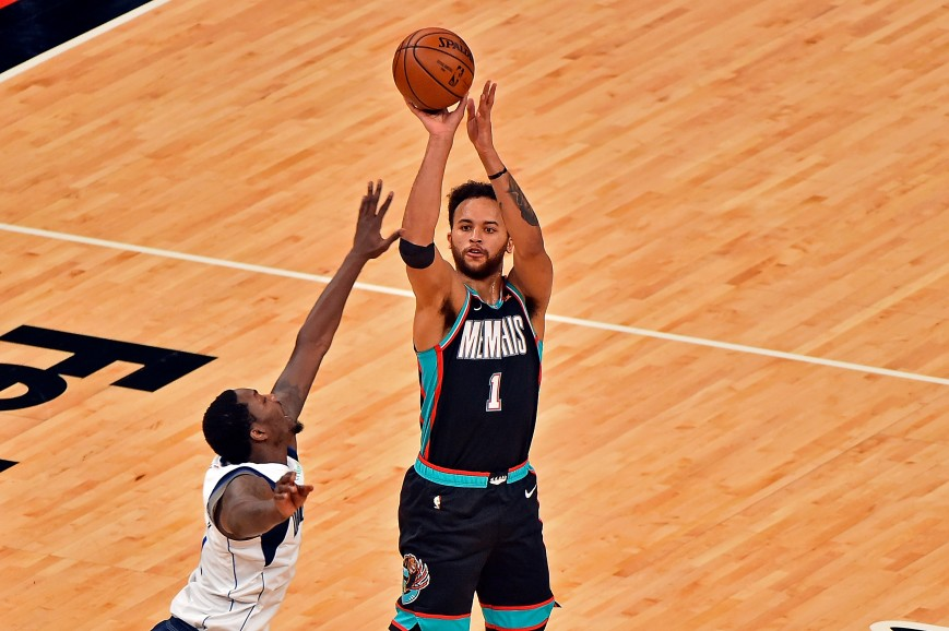 Kyle Anderson #1 of the Memphis Grizzlies