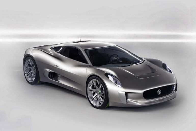 When Jaguar First Introduced The C X75 Supercar In The 2010 Paris Motor  Show, The Concept Was Equipped With A Pair Of Bladon Jets Micro Gas  Turbines.
