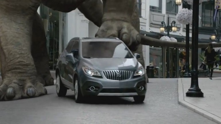 Buick Encore Dinosaur Commercial Is The Compact Crossover Better