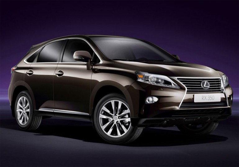 Lexus Crossover SUV 7 Penger To Join RX By 2015