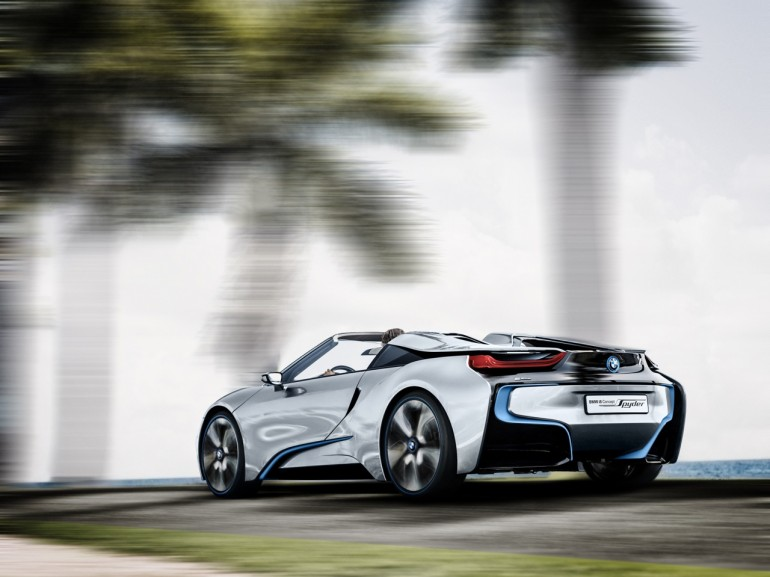 Bmw I8 Hybrid Performance Explained 94 Mpg 155 Mph Top Speed Video