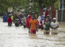 Tropical Storm Isaac drenches Haiti, aims for Cuba