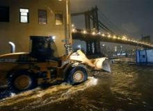Massive Storm Sandy Crashes Ashore in New Jersey