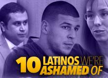 10 Latinos We Are Ashamed Of