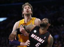 Heat Lakers Reuters Pic