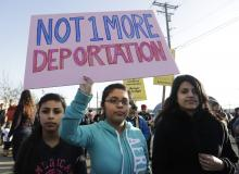 Protest Immigration.