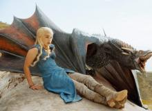 dany and dragons