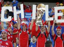 Fans of Chile Cheer