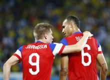 Aron Johannsson and John Brooks