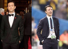 Joseph Gordon-Levitt and Niko Kovac